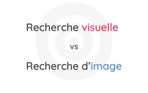 Recherche Visuelle VS Recherche d'Image